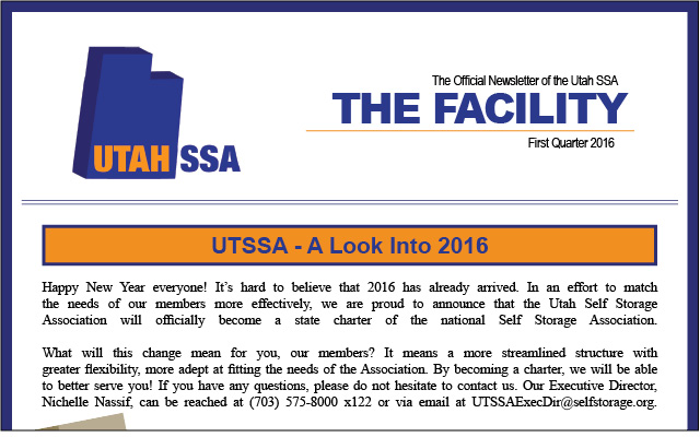 UTSSA Newsletter